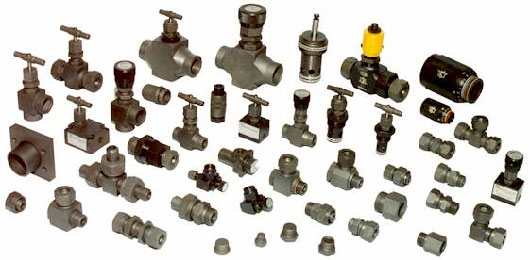 Hydraulic Fittings and Valves