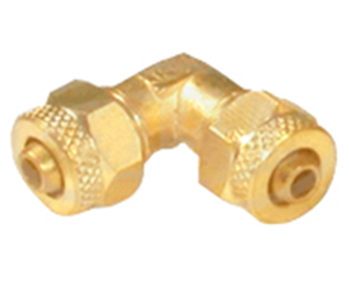 Brass PU Union