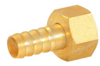 Brass Female Nut & Nipple
