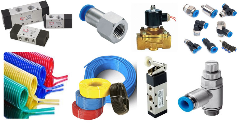 Pneumatic One Touch Tube Fittings